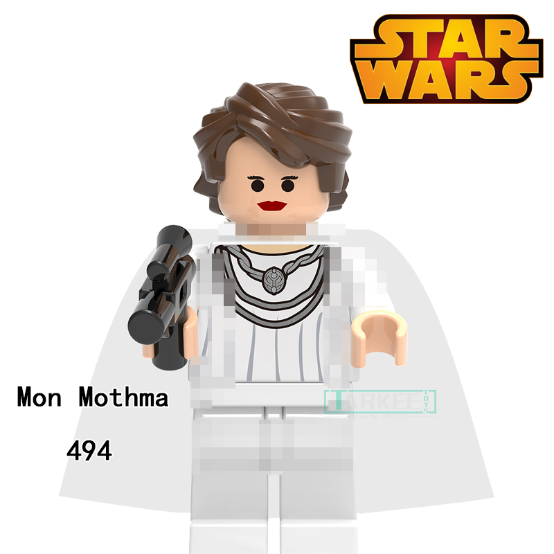 Building Blocks Mon Mothma Clone Trooper Cunner Zander Super Heroes Star Wars Bricks Dolls Kids DIY Toys Hobbies XH494 Figures building blocks the walking dead figures rick negan carl daryl star wars super heroes set assemble bricks kids diy toys hobbies