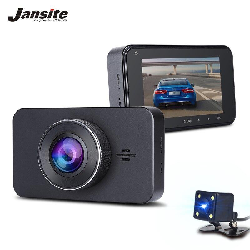 Jansite супер Ночное видение Видеорегистраторы для автомобилей Камера ADAS/LDWS FHD 1296 P 3 ips регистраторы видео Регистраторы SONY 323 регистратор Парко...
