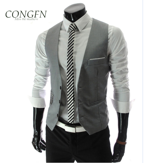 2015 New clothing casual wedding suits for men waistcoat blazer ...