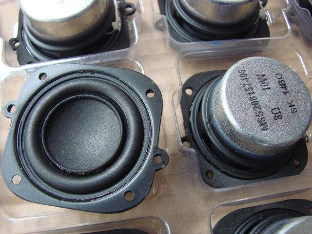 2pcs 2 Inch 8 Ohms 10 Watts Speaker Cushion Pot Tweeter Wool Basin Louderspeaker Good