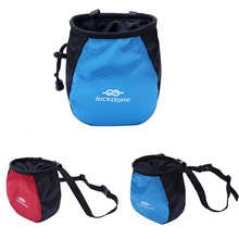 лучшая цена Waterproof Anti-Slip Chalk Bag Outdoor Mountaineering Rock Climbing Magnesia Bag For Rock Climbing Chalk Storage Bag