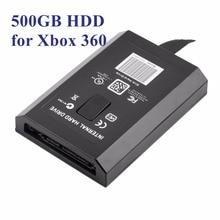 1 шт. Легкий Портативный 500 ГБ 500 Г HDD Внутренний Жесткий Диск диск HDD для Microsoft для Xbox 360 & Slim Большой емкость