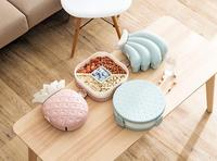 Creative Home Storage Plastic Storage Box Candy Box Living Room Fruit Pot Snack Fruit Box Home