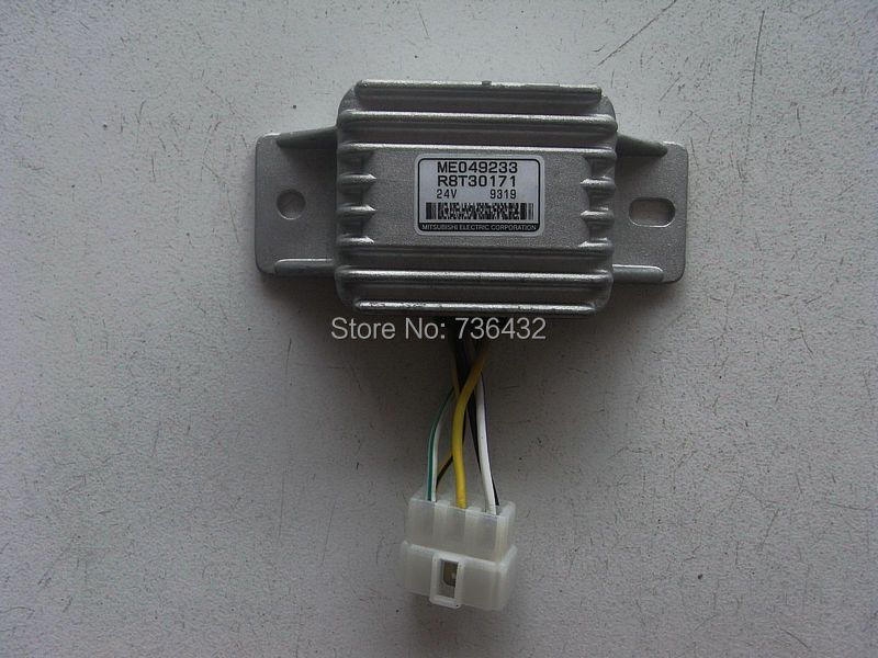 Free shipping! Excavator Relay ME049233 - excavator electrical appliances - hook machine relay- digger repair kit ricci jdl c 21 e4