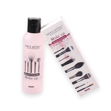 180ml Makeup Brush Liquid Cleaner Quickly Cleaning Blush, Make Up Puff Remover Tool