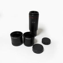 Promo offer NEW ARRIVAL Microscope camera 0.5x Reduction lens Microscope 0.5X Eyepiece C-cmount adapter for CCD Camera Digital Eyepiece
