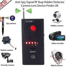 Анти шпион детектор камера GSM аудио ошибка искатель Беспроводной gps сигнал RF трекер конфиденциальности защиты безопасности США Plug