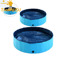 Large Size Pet PVC Washing Pond summer Dog Bed Foldable pet Play Swimming Pool bath tool for Chihuahua Bathing Bathtub Washer