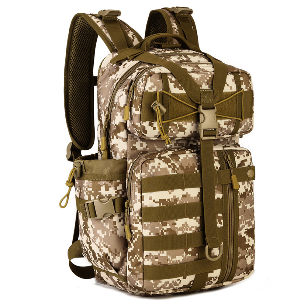 Multifunction Military Nylon Molle System Backpack Men Women 14 inch Laptop Bag Casual Camouflage Travel School Work Knapsack casual nylon travel backpack multifunction shoulder bag women men for camera canon eos 1300d 760d 750d 700d 1200d 80d
