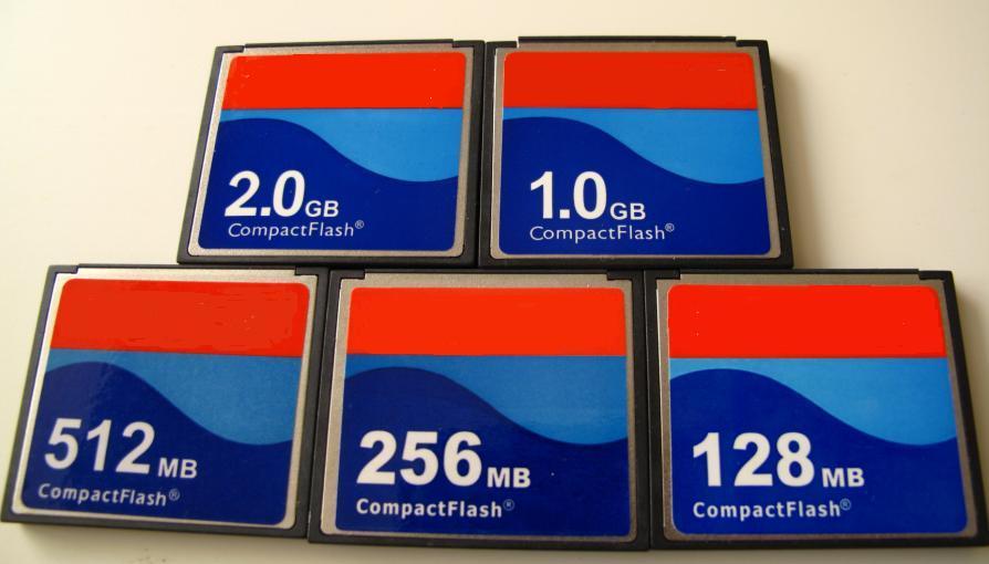 512mb Compact Flash Card 512 MB CF mapa usado