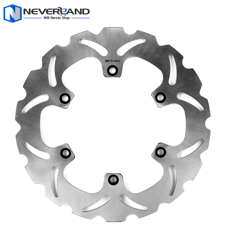 ФОТО 1pcs Rear Brake Disc Rotor For Yamaha MT01 1670 2005-2011 XJR 1300 1998-2015 Motorcycle