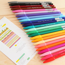 lot Gel pens Monami plus pen Korean Stationery Canetas papelaria Zakka gift