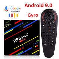H96 MAX plus Android 8.1 TV Box 4GB RAM 32GB 64GB ROM Set Top Box RK3328 2.4G 5G Wifi 4K H96 pro Netflix Smart media player