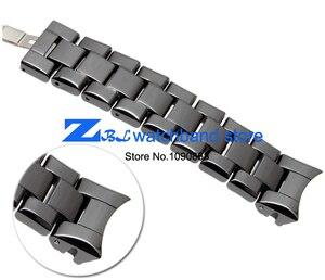 Image 5 - Keramische horlogeband 18mm 22mm horloge band voor armani AR1400 AR1403 AR1406 AR1401 AR1407 AR1409 AR1443 AR1410 AR1475 horloge band