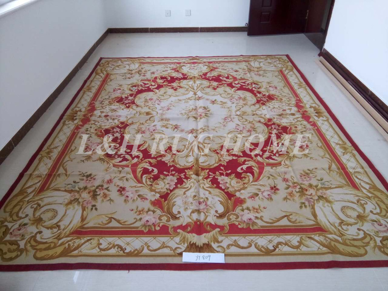 French Aubusson Rugs Woolen Carpets
