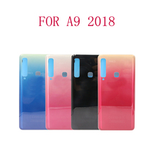 Free Shipping 20pcs A9 2018 Back Battery Cover Rear Door Panel Glass Housing Case For Samsung Galaxy Star Pro A920 A920F