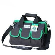1 adet LAOA 600D alet çantası elektrikçi büyük kapasiteli onarım aracı kiti su geçirmez çantalar depolama için elektrikçiler araçları