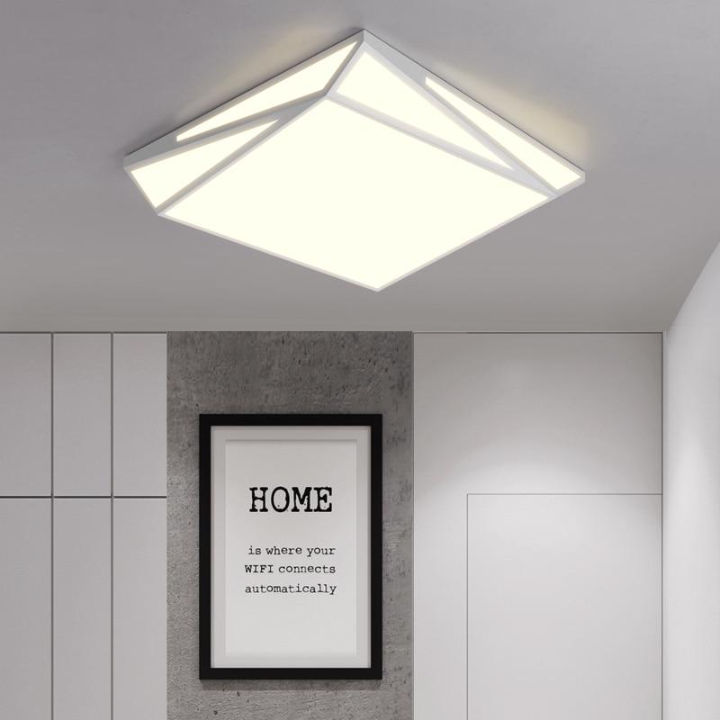 DAR Geometry Ceiling Lights For Living Room Modern Led Ceiling Lamp 90-260V Surface Mounted Led Light Ceiling Lighting Fixtures