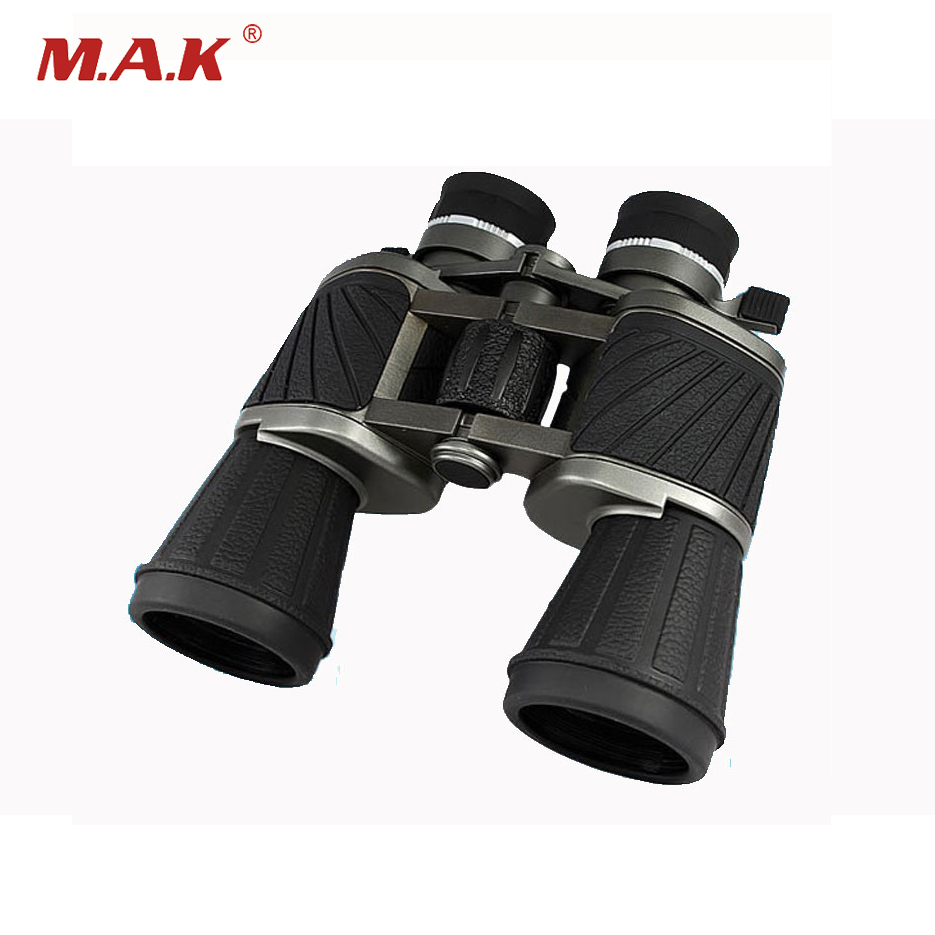 Black 10X50 Binoculars Telescope Big Eyepiece Wide Field HD Professional Telescope for Hunting Watching Other Activity