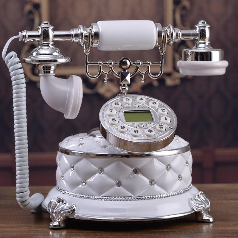 New authentic European antique telephone / / telephone landline corded phone ringing tones