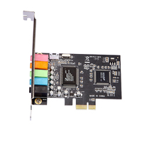 PCI Express PCI E 5 1CH Stereo External Sound Card CMI8738 Chipset Digital Audio Card For