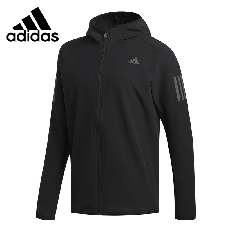 Original New Arrival <font><b>Adidas</b></font> RESPONSE JACKET <font><b>Men's</b></font> Running Jacket Hooded Sportswear image