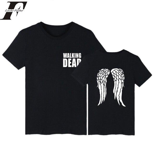 bbddebf4 2017 harajuku tshirt The Walking Dead fitness T-Shirt women Brand clothing  funny t shirts tumblr plus Size 4XL T Shirt