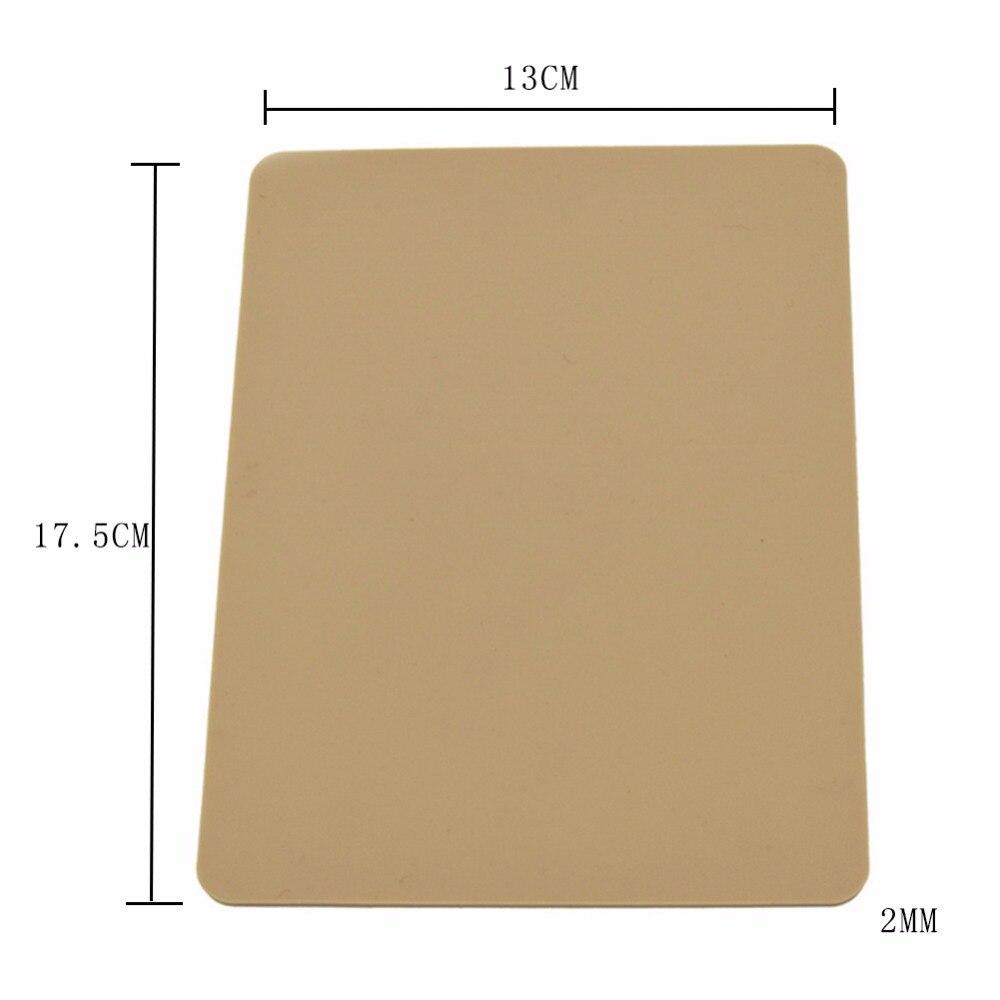 Тиснение сменный коврик для высечки выбивая машина карты DIY Изготовление скрапбукинга резки штампы резиновый коврик
