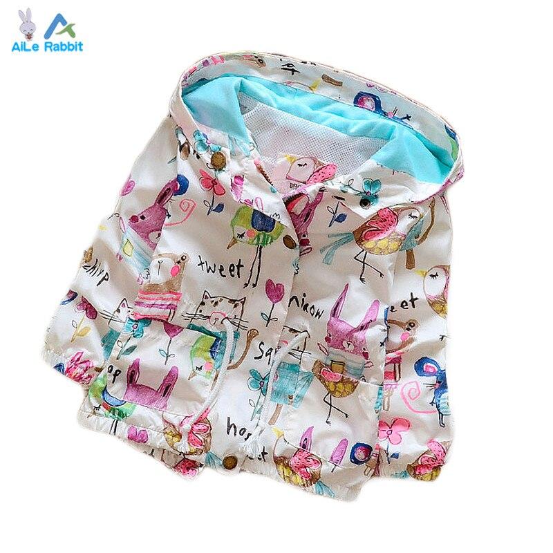 Spring 2016 New Cotton Baby Girls Cardigan Coat Spend Three Flowers Lollipops Dot Jacket Cardigan Kids