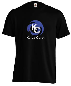Camiseta de estilo de moda para hombre, Yugioh Kaiba Corp, juego de tarjetas, ojos azules, plata, dragón, camiseta clásica de 100% algodón