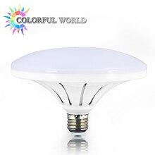 UFO 180-265V Energy Saving E27 LED Lamp 18W 24W 36W SMD 5730 Flat High Power LED Light Bulb 220V E27 UFO LED Light for Home Ligh