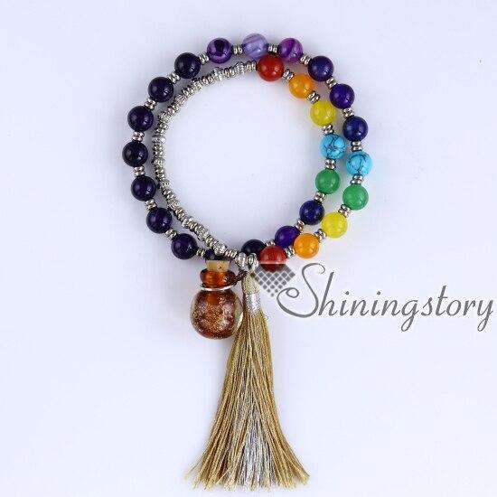 Chakra Bracelet Australia Oil Diffuser Jewellery Uk Tree Of Life Jewelry Faith Tibetan Prayer Beads Bra In Strand Bracelets From