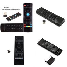 MX3 MX3-L Backlit Air Mouse T3 Smart Remote Control 2.4G RF Wireless Keyboard For X96 Tx3 Mini A95X H96 Pro Android TV Box(China)