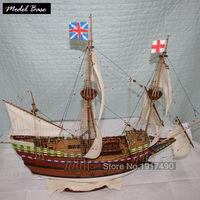 Комплект модели корабля может цветок деревянная модель корабля, набор материалов
