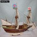 Kit Modelo de navio Modelo de Navio Kit Flor de Maio de modelo de navio de madeira, conjunto de materiais