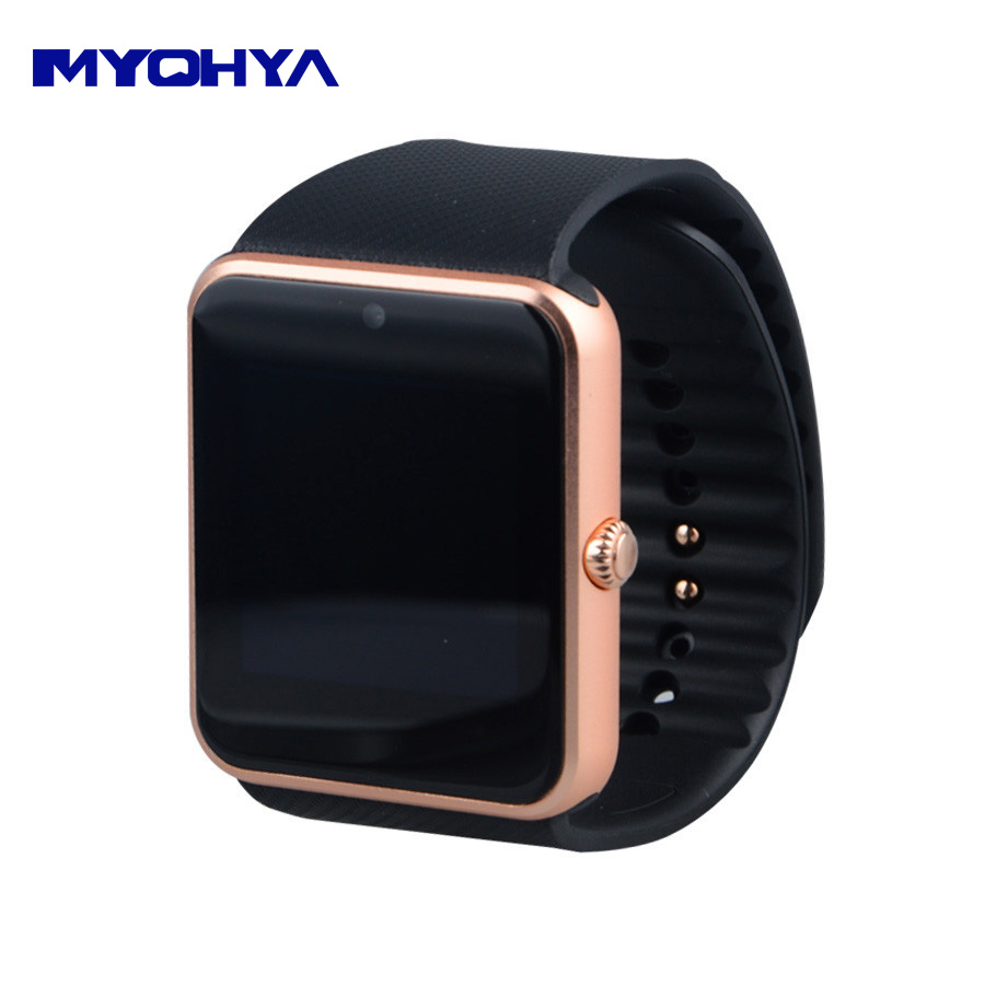 imágenes para Smartwatch smartwatch android wear gt-08 smart watch reloj deportivo reloj android ios smartwatch para iphone 4 5 6 6s samsung s6 edg