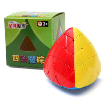 QiYi Mastermorphix 5x5 Rice Dumpling Stickerless Magic Cube Puzzle Toy Colorful Multicolor Special Hight Difficult 5x5x5 Cube new arrival of shengshou mastermorphix 5x5x5 cube rice dumpling stickerless magic cube speed puzzle cube toys