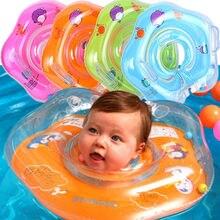 Детские аксессуары для бассейна, Детские трубчатые кольца, кольцо на шею для плавания, безопасный круг для купания, надувной круг для детей 0-3 лет