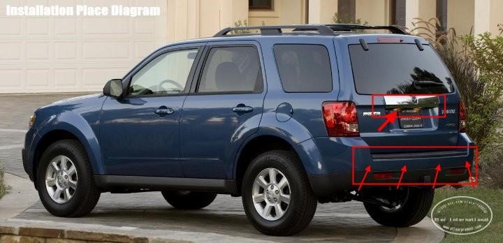 Mazda-Tribute-2010-BIBI Alarm Parking System