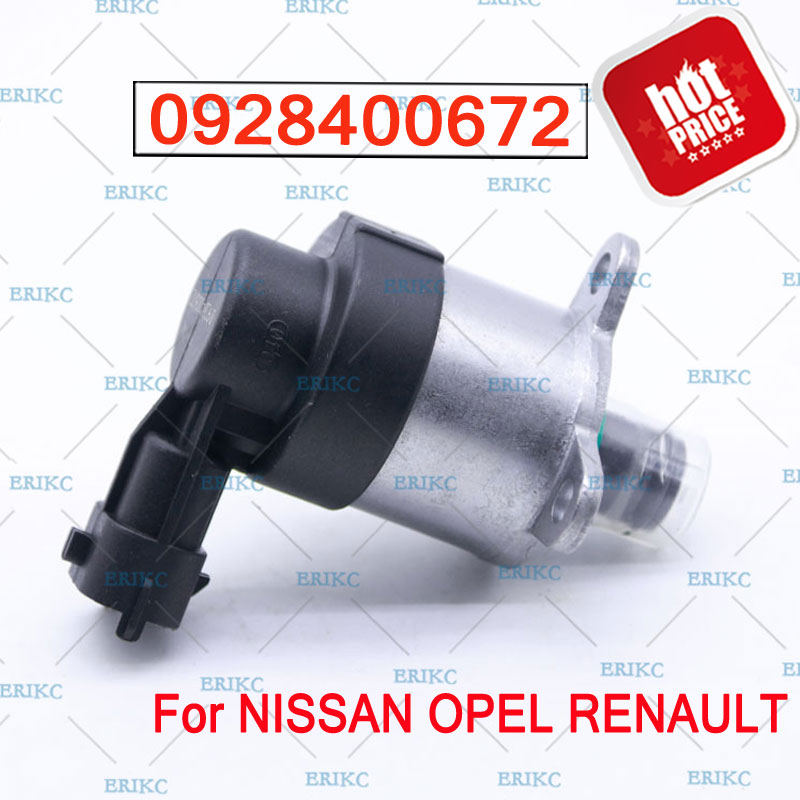 0928400672 Fuel Common Rail System Inlet Metering Pump Control Valve For NISSAN
