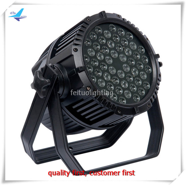 Hot Sell 2pcs/lot 54x3w Stage Light LED Par Light IP65 Waterproof RGBW Outdoor DJ DMX 54 Par Can Disco Lighting for Party Show