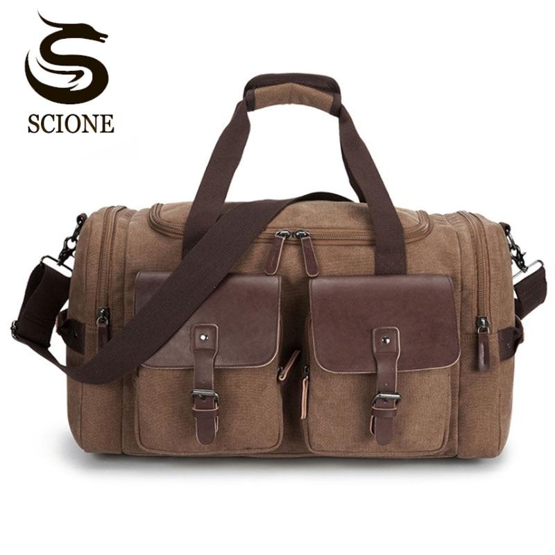 Top Quality Male Luggage Large Capacity Travel Bag Men Shoulder Handbag Crossbody Travel Duffel Bags Women Duffle Weekend Bag-in Travel Bags from Luggage & Bags    1