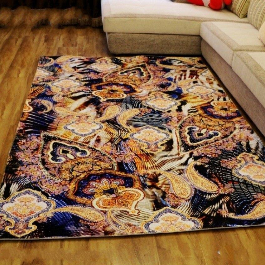 Большой sizeretro стиль картина маслом ковер гостиной журнальный столик ковер, прямоугольник землю коврик, великолепные украшения дома коврик