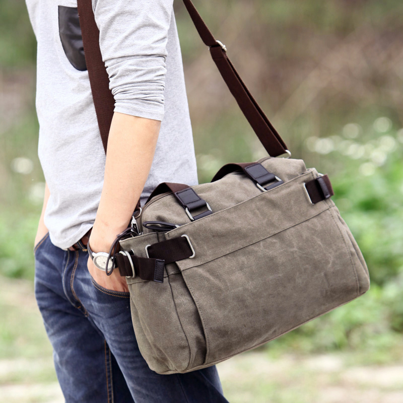 Favocent Brand Men Handbags Canvas Crossbody Bag Vintage Casual Travel Bag Large Capacity Notebook Luggage Bags Free shipping augur men s messenger bag multifunction canvas leather crossbody bag men military army vintage large shoulder bag travel bags