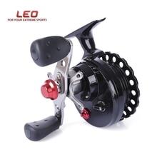 Лидер продаж LEO DWS60 4 + 1BB 2,6: 1 65 мм нахлыстом катушечное колесо с высокой стопы Рыболовные Катушки Влево/правая рука рыболовные катушечное колесо s