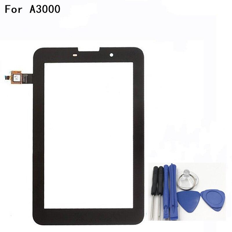 7,0 дюйм(ов) Touch Стекло Сенсорный экран Стекло планшета Панель спереди Стекло для lenovo A3000 A3000H объектив Сенсор инструменты