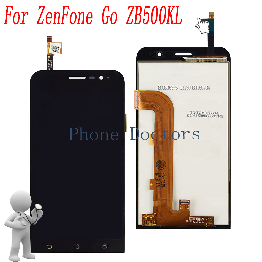 5.0 inch Full LCD DIsplay+Touch Screen Digitizer Assembly For Asus ZenFone Go ZB500KL X00AD X00ADA X00ADB X00ADC