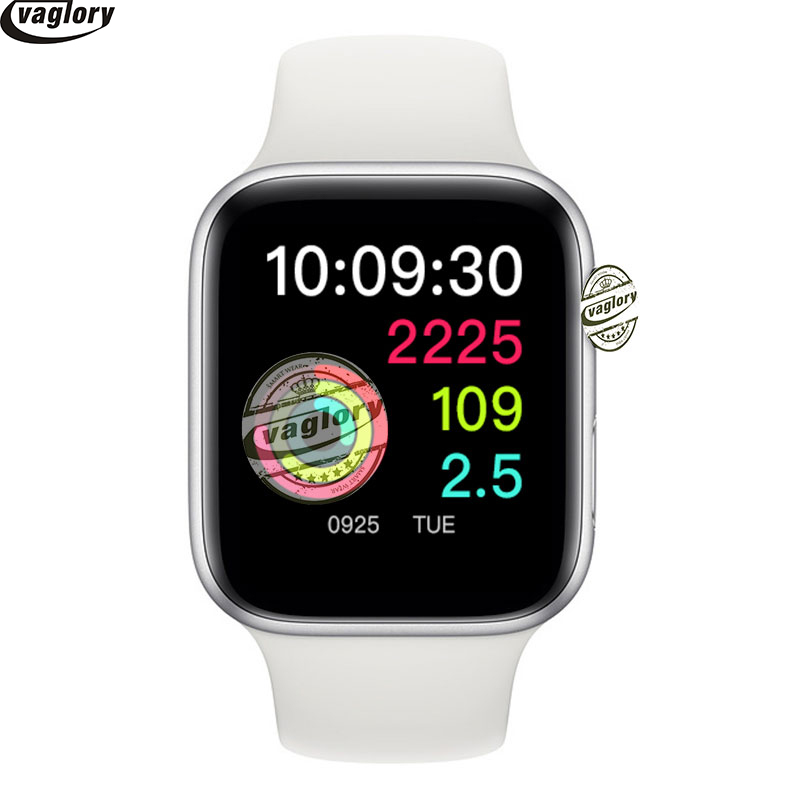 <font><b>IWO</b></font> 8 <font><b>Smart</b></font> Uhr MTK2502C 44mm Uhr Serie <font><b>4</b></font> Mit Russland Sprache Herz Rate Monitor Uhr Für IOS Android smartphone image