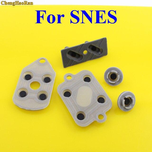 5 sztuk/zestaw 2 10 zestawów wysokiej jakości dla oddelegowanych ekspertów krajowych Super NES Nintendo przewodzące wymiana kontrolera podkładki gumowe