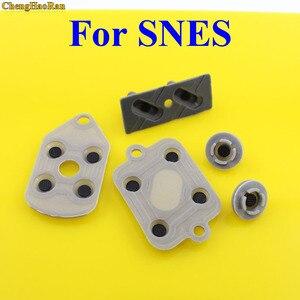 Image 1 - 5pcs/set 2 10 sets High Quality For SNES Super NES Nintendo Conductive Replacement Controller Rubber Pads